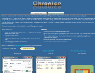 chronice.sicyon.com screenshot
