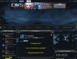 chroniclers.enjin.com screenshot