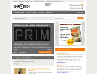 chronomag.cz screenshot