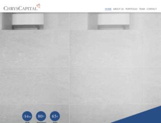chryscapital.com screenshot