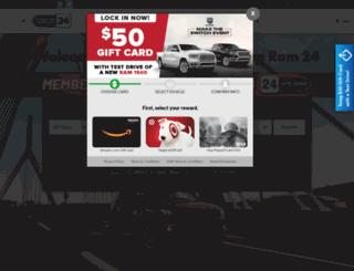 chryslerjeep24.com screenshot