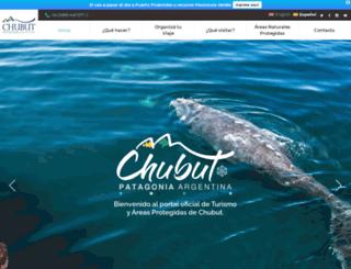 chubutpatagonia.gob.ar screenshot