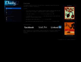 chuckyg.com screenshot
