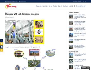 chung-cu-vp5-linh-dam.sanhathanh.com screenshot