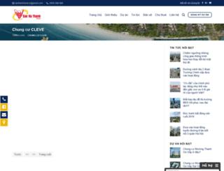 chungcucleve.sanhathanh.com screenshot