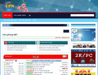 chuphongnet.net screenshot