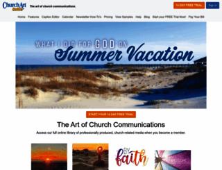 churchart.com screenshot