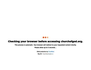 churchofgod.org screenshot