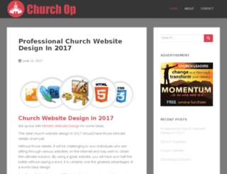 churchop.org screenshot
