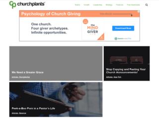 churchplants.com screenshot