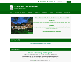 churchredeemer.org screenshot