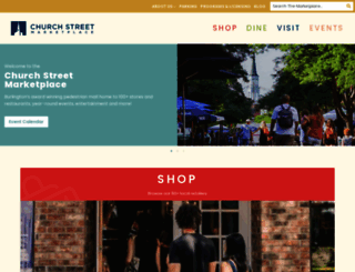 churchstmarketplace.com screenshot