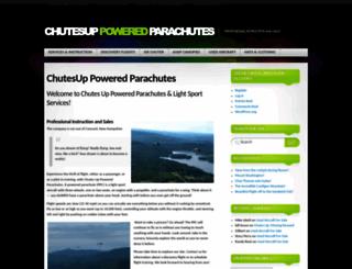 chutesup.com screenshot