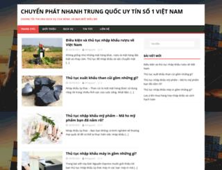 chuyenphathangkhong.com screenshot