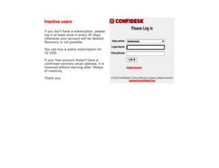 chwww1.confidesk.com screenshot