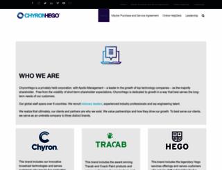 chyronhego.com screenshot