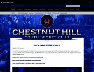chysc.org screenshot