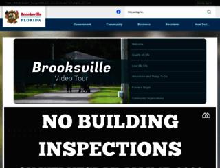 ci.brooksville.fl.us screenshot