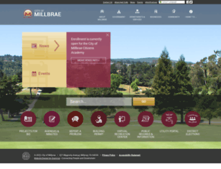 ci.millbrae.ca.us screenshot