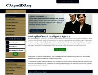 ciaagentedu.org screenshot