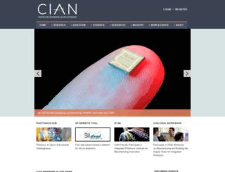 cian-erc.org screenshot