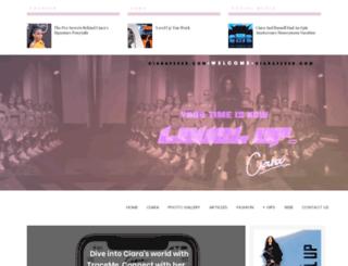 ciarafever.com screenshot