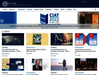 ciat.org screenshot
