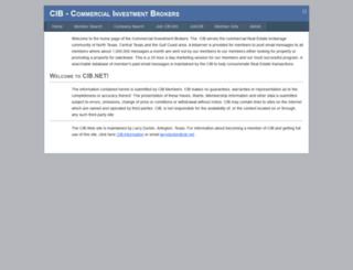 cib.net screenshot
