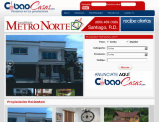 cibaocasas.com screenshot
