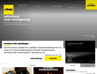 cibap.nl screenshot