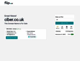 ciber.co.uk screenshot