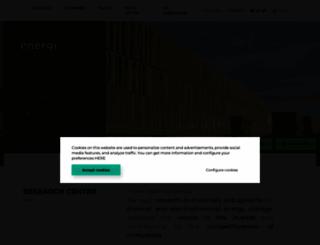 cicenergigune.com screenshot
