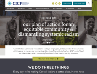 cicf.org screenshot