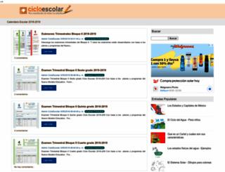 cicloescolar.com screenshot