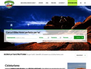 cicloturismo.com screenshot