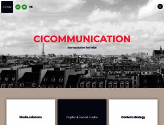 cicommunication.com screenshot