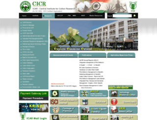 cicr.org.in screenshot