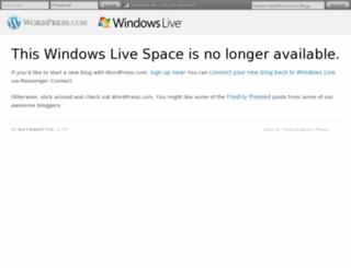 cid-0e1482823c3b5118.spaces.live.com screenshot