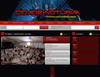 cidadenoturna.com.br screenshot