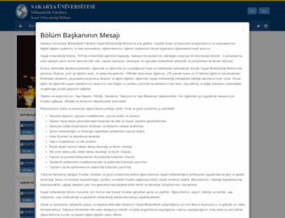 cie.sakarya.edu.tr screenshot