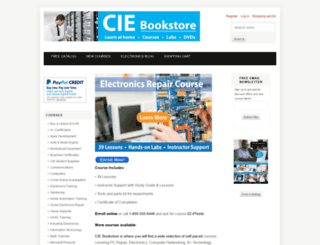 ciebookstore.com screenshot
