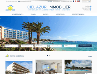 cielazurimmo.com screenshot