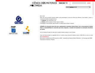 cienciadosmateriais.org screenshot