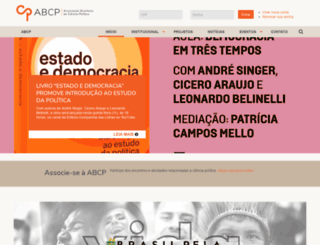 cienciapolitica.org.br screenshot