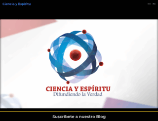 cienciayespiritu.wordpress.com screenshot