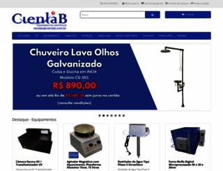 cienlab.com.br screenshot