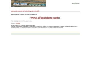 cifpcerdeno.es screenshot