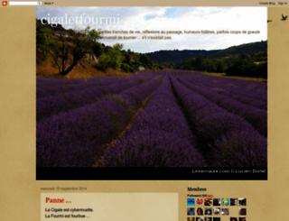 cigaletfourmi.blogspot.fr screenshot