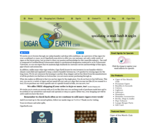 cigarearth.com screenshot