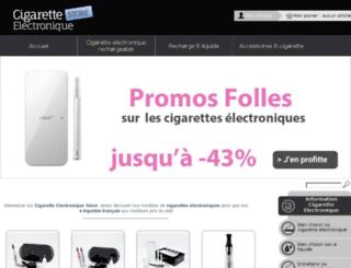cigarette-electronique-store.com screenshot